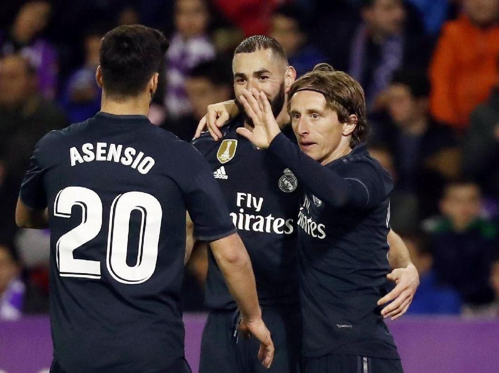 Madrid Berjuang Melepas Kekecewaan di Markas Valladolid