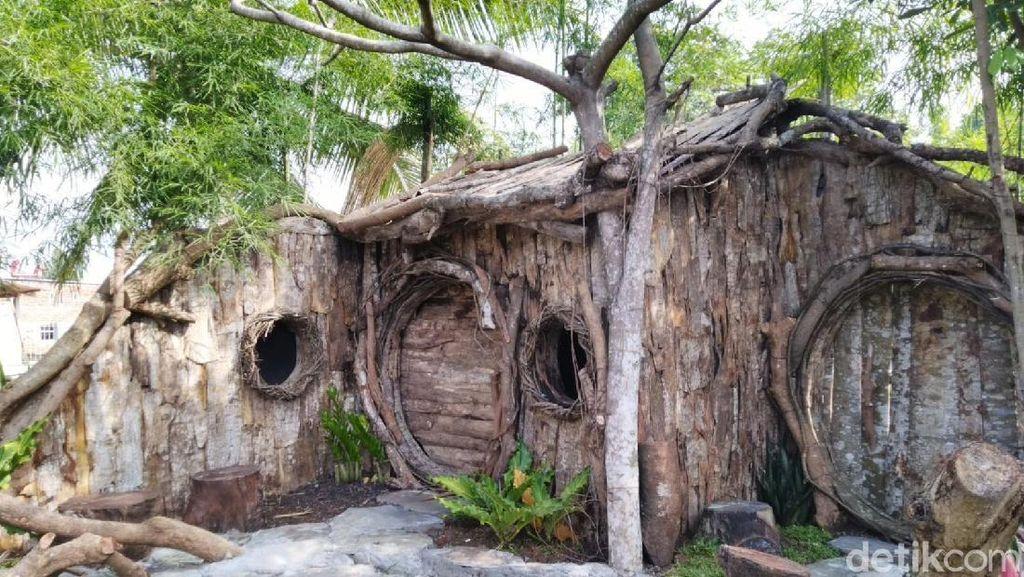 Foto: Rumah Hobbit di Ciamis, Bisa Buat Pernikahan
