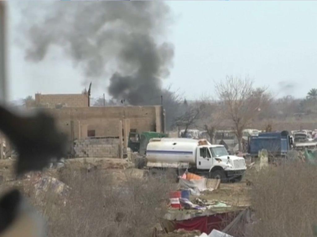 Wilayah Terakhir ISIS Hancur Lebur