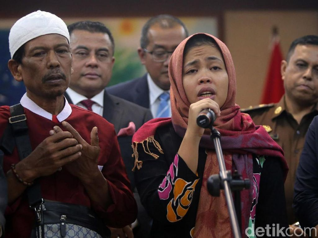 TKN: Pembebasan Siti Aisyah Diplomasi Tinggi, Sulit Dipahami Sebelah