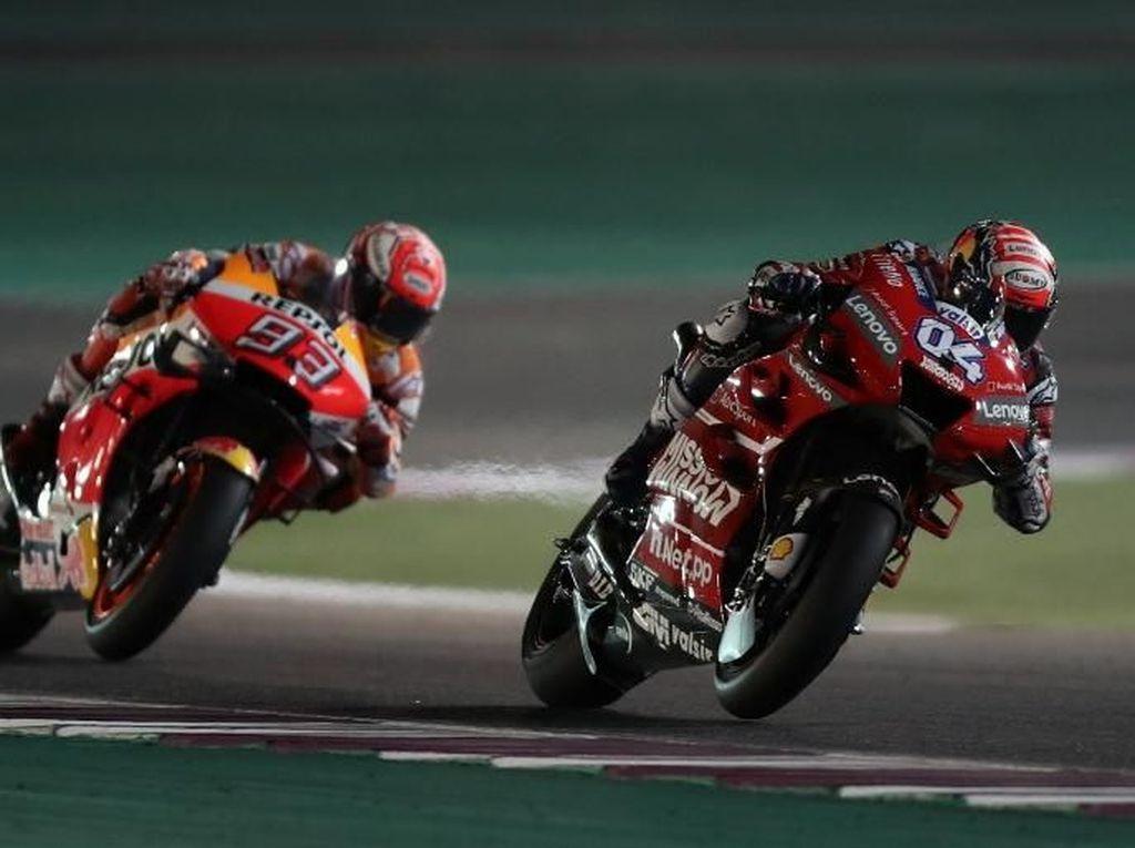 Soal Gelar Juara, Dovi: Kuharap Cuma Akan Bersaing dengan Marquez, tapi...