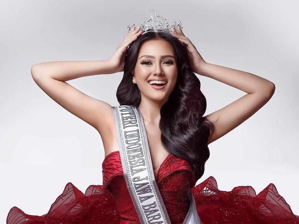 Cantiknya Jesica, Puteri Indonesia yang Fotonya Dipamerkan Jokowi di IG