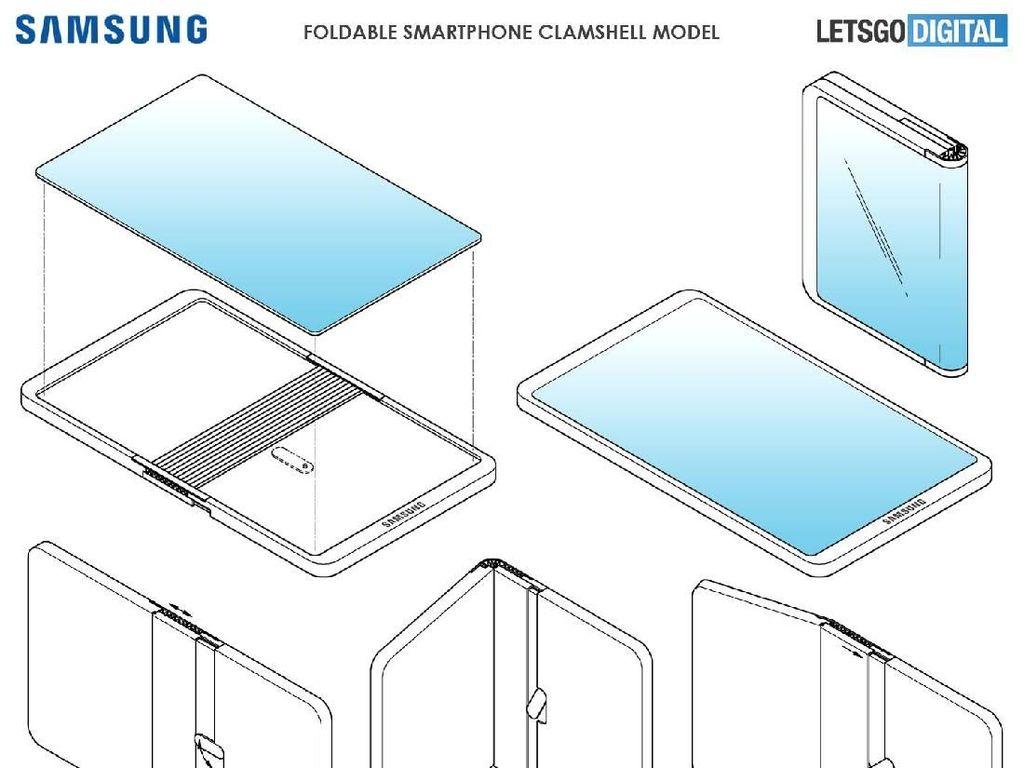Samsung Galaxy Fold Baru Muncul, Apa Ini Calon Penerusnya?