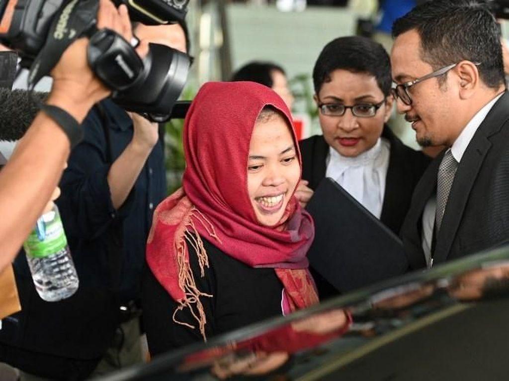 Siti Aisyah Dinyatakan Bebas, Doan Thi Huong Menangis Terisak-isak