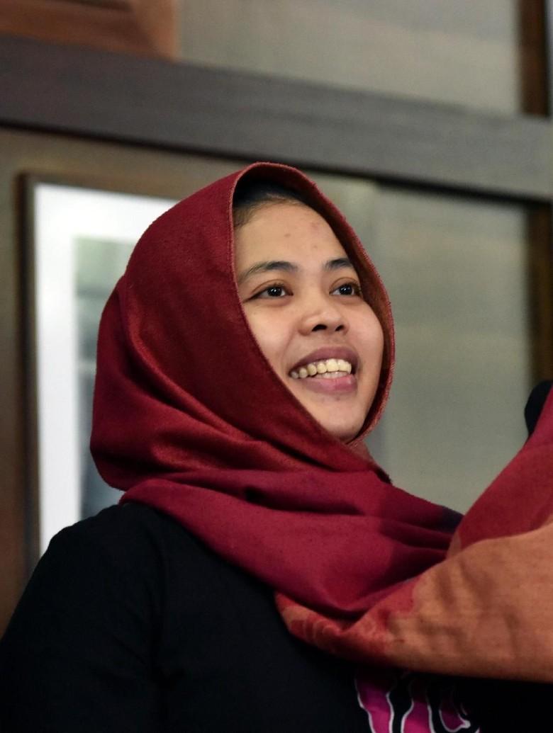 Ucapan Terima Kasih Siti Aisyah untuk Jokowi hingga KBRI
