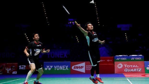 Mohammad Ahsan/Hendra Setiawan kembali menunjukkan peningkatan performa di tahun 2019.