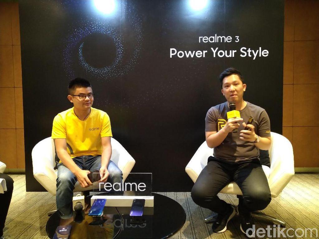 Realme 3 Enggan Jualan Megapixel Kamera