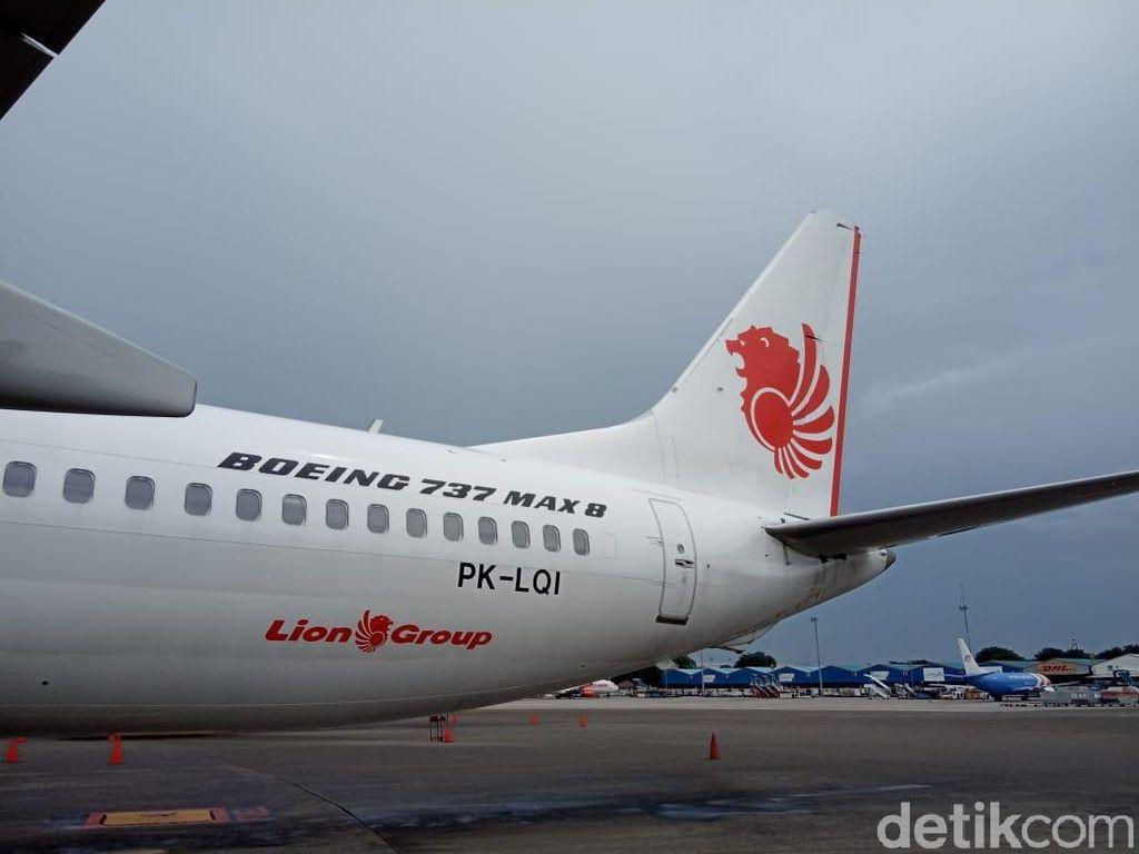Boeing 737 MAX 8 yang Ditahan di Makassar Bawa Jemaah Umrah