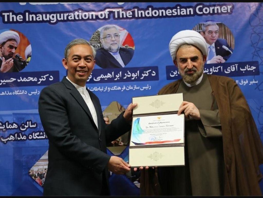 Pojok Indonesia di Iran, Bukti Berkembangnya Dialog Peradaban RI-Iran