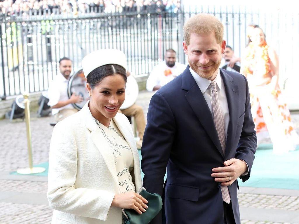 Anak Pangeran Harry dan Meghan Markle Tak Akan Bergelar Putri atau Pangeran