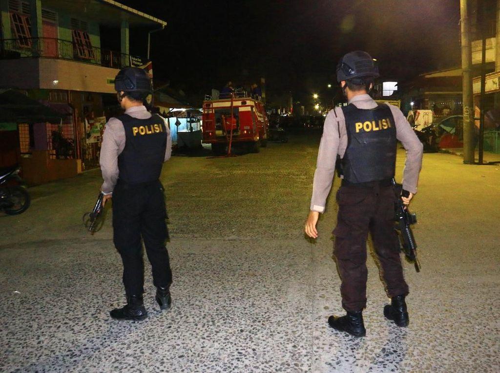Bom Meledak di Lokasi Penggerebekan Terduga Teroris