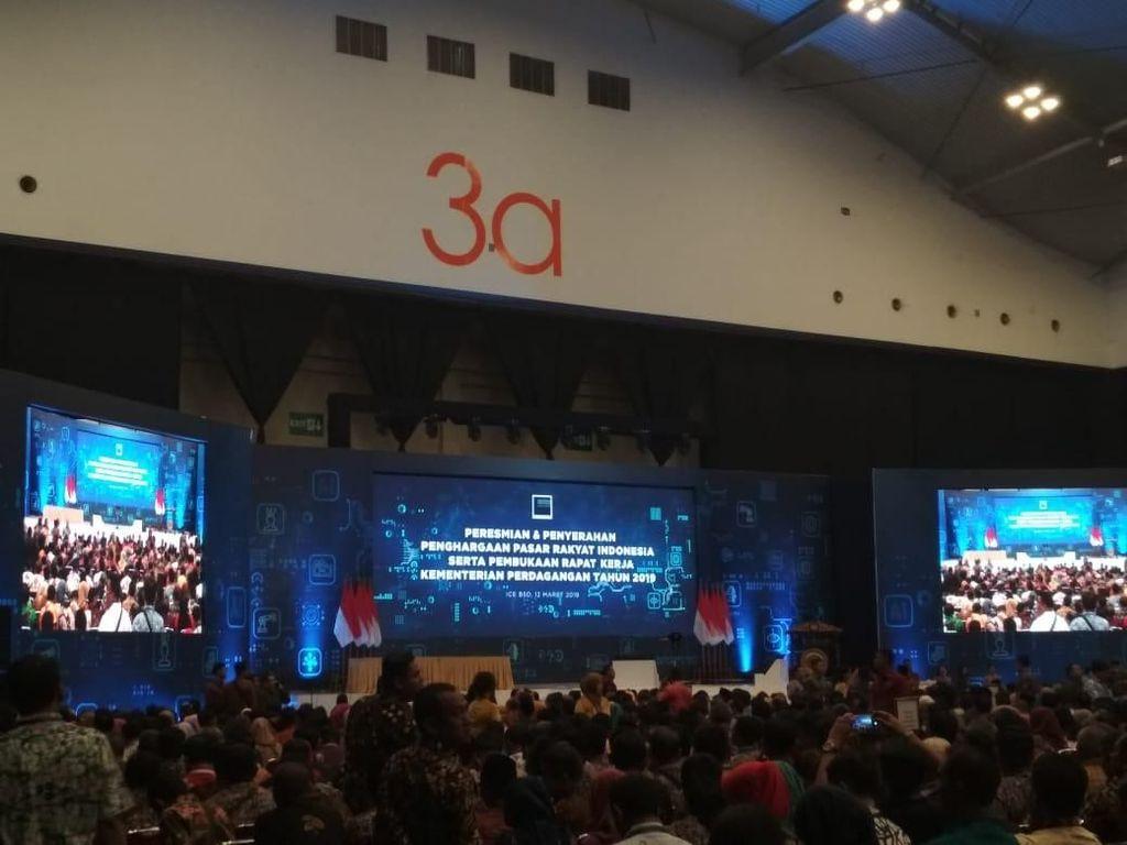 Jokowi Buka Rapat Kerja Kemendag dan BKPM