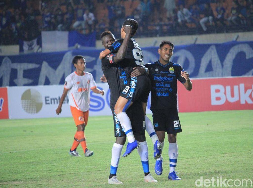 Hasil Piala Presiden: Persib Akhiri Kiprah dengan Lumat Perseru 4-0
