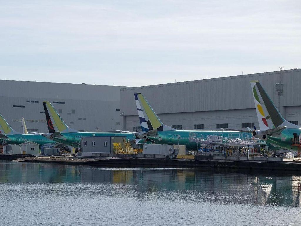 Inggris Larang Terbang Boeing 737 MAX 8