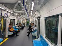 First Impression Warga DKI Jajal MRT: Keren, Kayak di Luar Negeri!