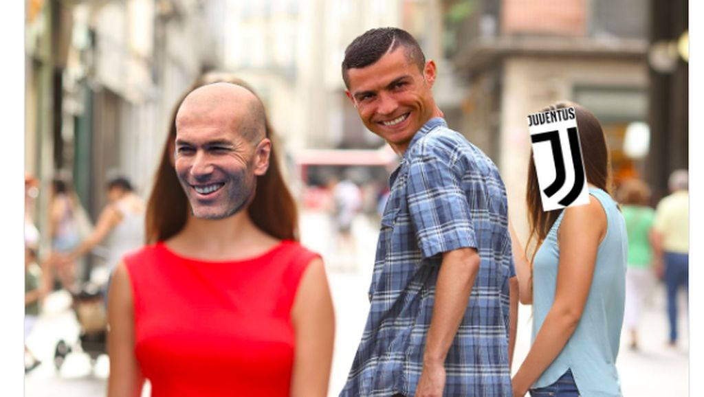 Ragam Meme Zidane Balik ke Madrid, Ronaldo Ikut Disinggung