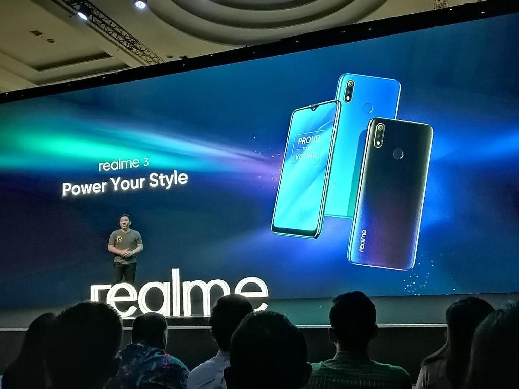 Realme 3 Resmi Dirilis di Indonesia, Ini Spesifikasinya