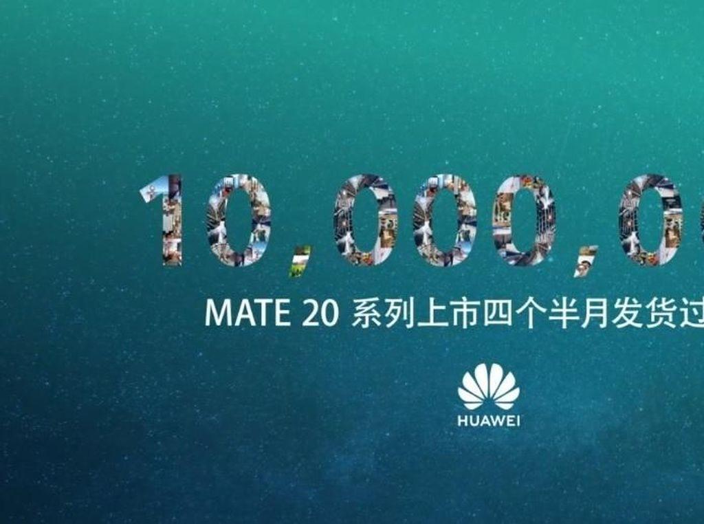 Huawei Sukses Kapalkan 10 Juta Unit Mate 20 dalam 4,5 Bulan