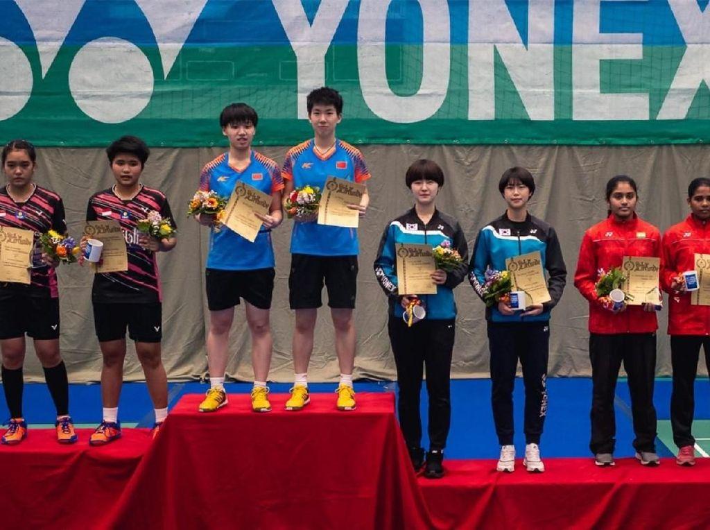 Ganda Putra dan Putri Indonesia Raih Juara Dua Yonex German Junior