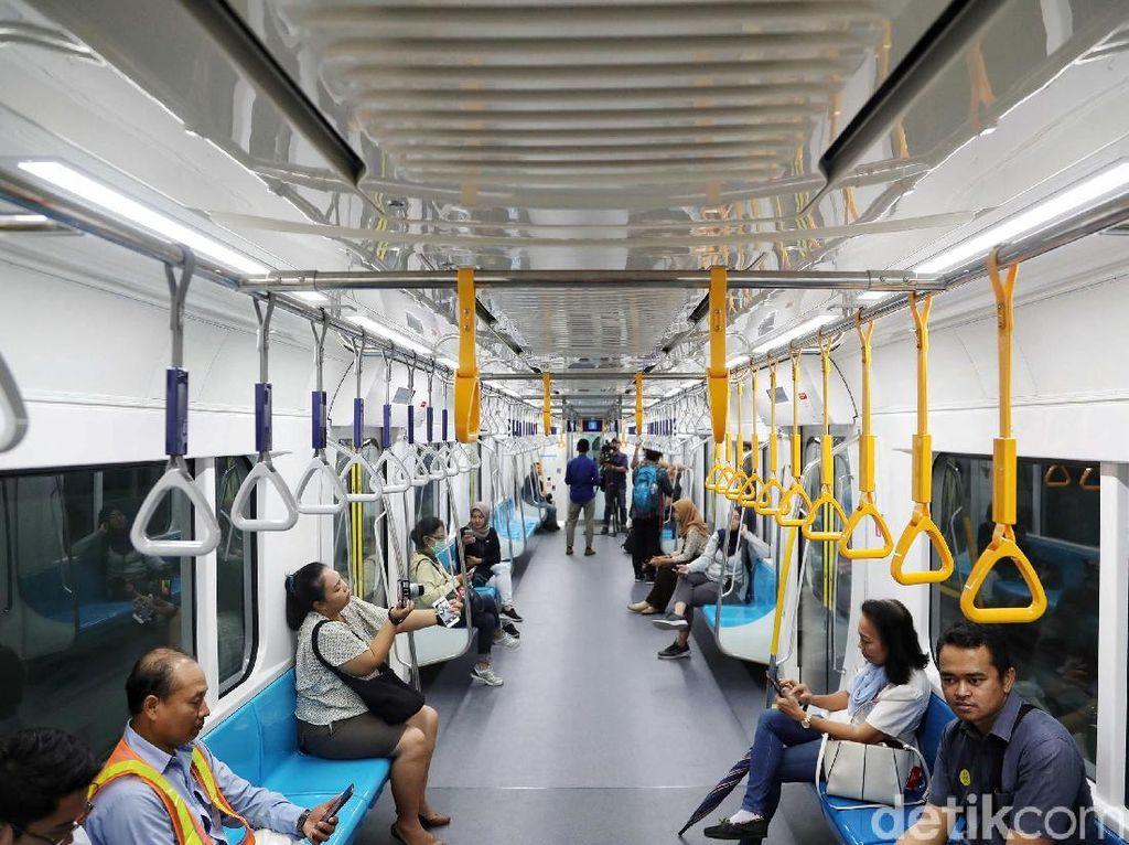 DPRD DKI Baru akan Rapat Tentukan Tarif MRT 25 Maret
