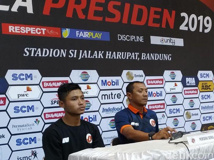 Pelatih Perseru Serui, I Putu Gede. (Foto: Mukhlis Dinilah/Detikcom)