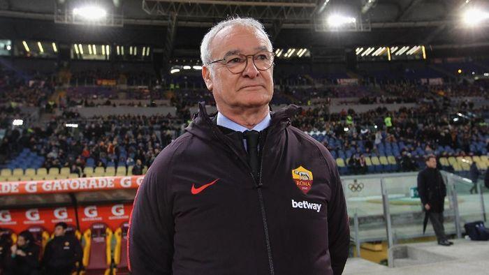 Claudio Ranieri menjalani start positif bersama AS Roma lewat kemenangan atas Empoli (Foto: Paolo Bruno/Getty Images)
