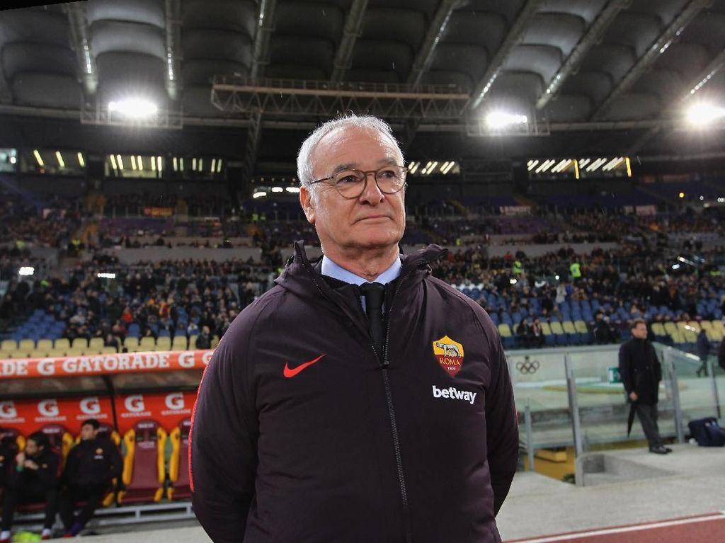 Ranieri Tinggalkan Roma Akhir Musim Ini