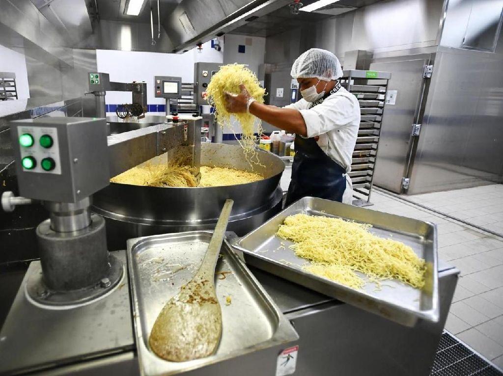 Katering Makanan Pesawat di Singapura Ciptakan Makanan Awet hingga 2 Tahun