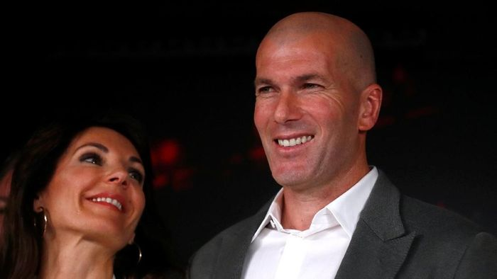 Zinedine Zidane menyebut terpuruknya Real Madrid merupakan hal wajar (Susana Vera/REUTERS)