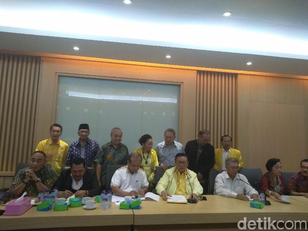 Dewan Pakar Beri Masukan ke DPP Golkar Agar Raup 18% Suara Pileg