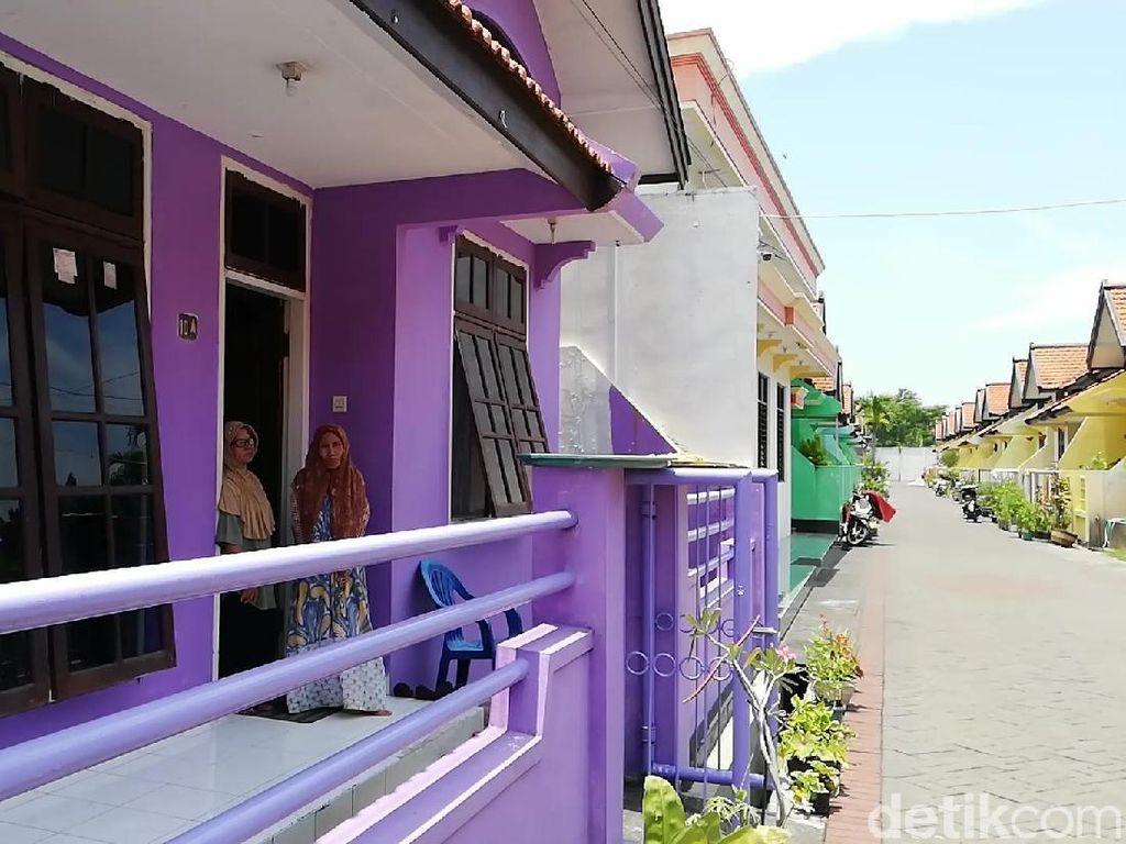 Kampung Janda Pasuruan, Penghuni Tinggal Gratis