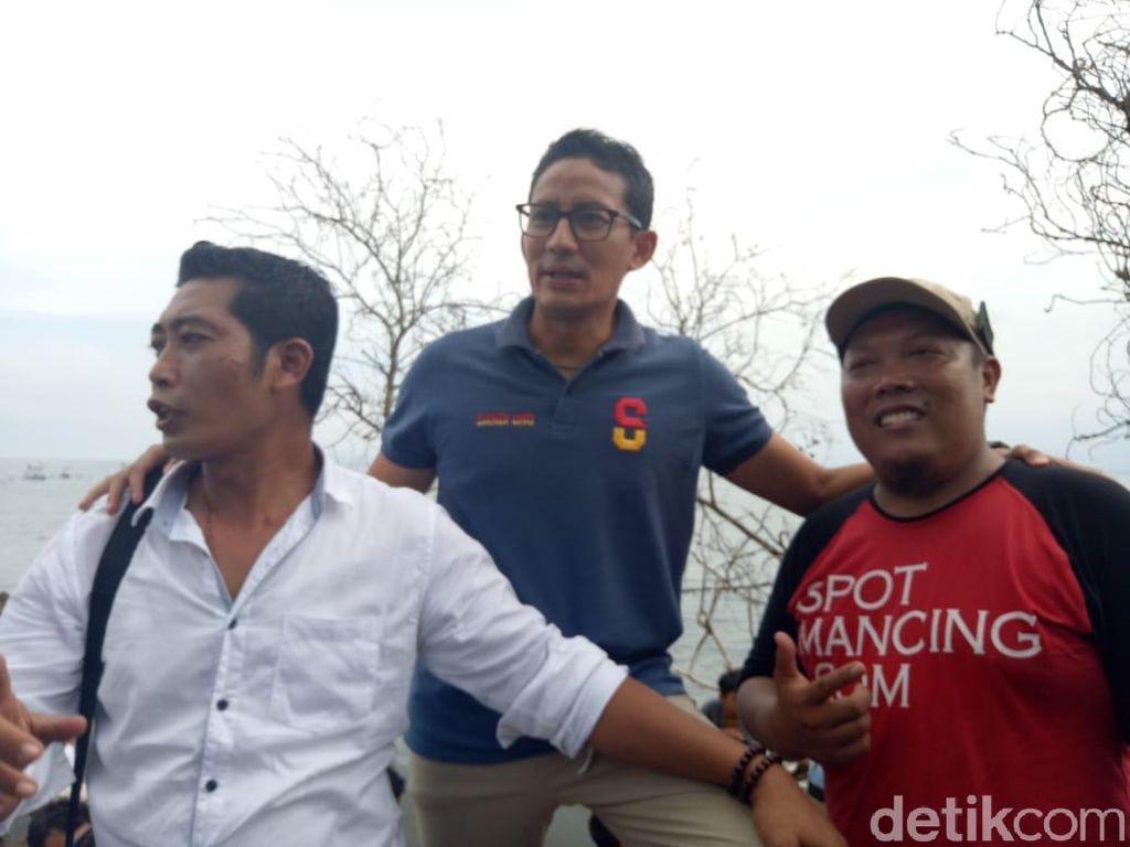 Sandiaga Uno Diminta Bangun Tol Denpasar-Gilimanuk Jika Terpilih