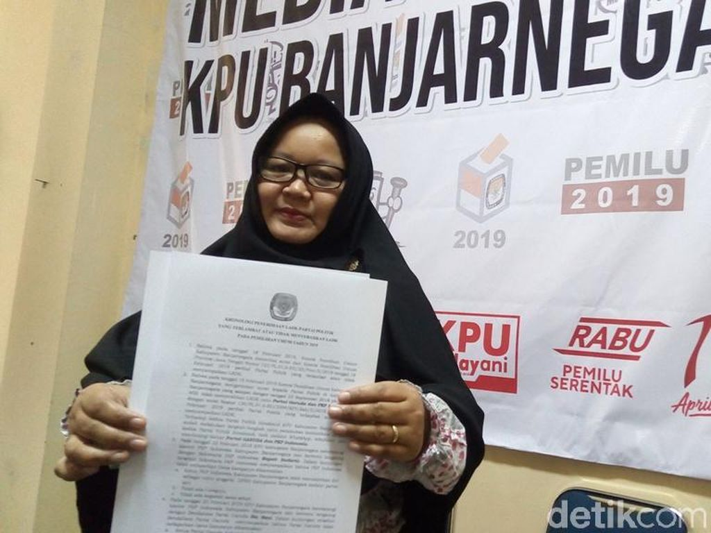 PKPI dan Partai Garuda Dilarang Ikut Pemilu di Banjarnegara
