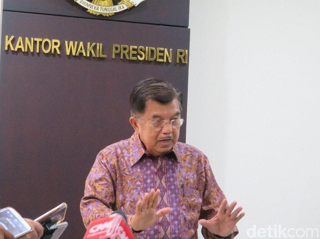 Pro-Prabowo Kurang Percaya KPU di Survei, JK: Bawa ke MK, Semua Selesai