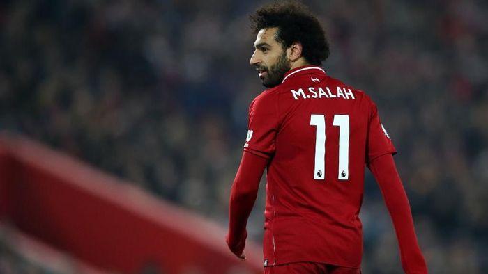 Mohamed Salah absen bikin gol dalam tujuh pertandingan terakhir Liverpool (Clive Brunskill/Getty Images)