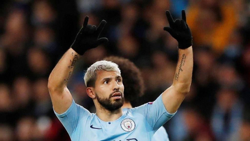 City Hancurkan Schalke Tujuh Gol Tanpa Balas
