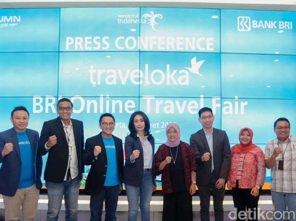 Gaet Traveloka, BRI Gelar Online Travel Fair Diskon Hingga 30%