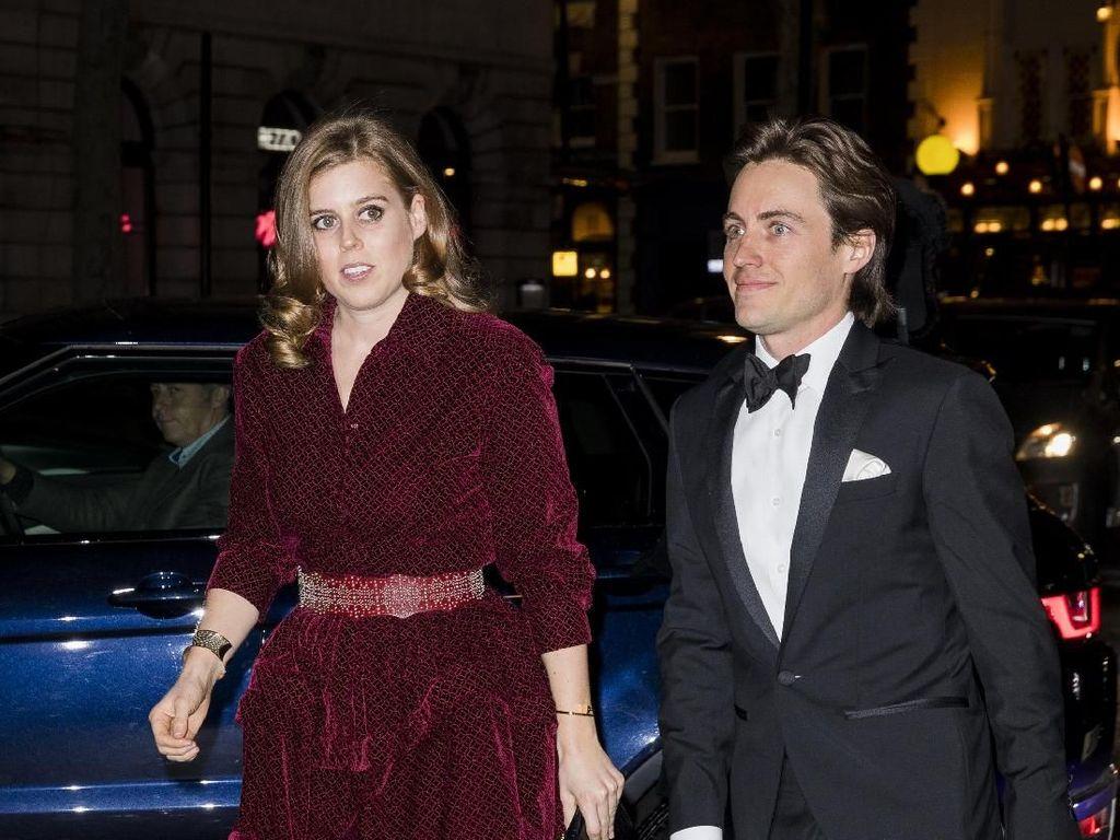 Perdana, Putri Beatrice dan Pacar Dudanya Tampil Bersama di Karpet Merah
