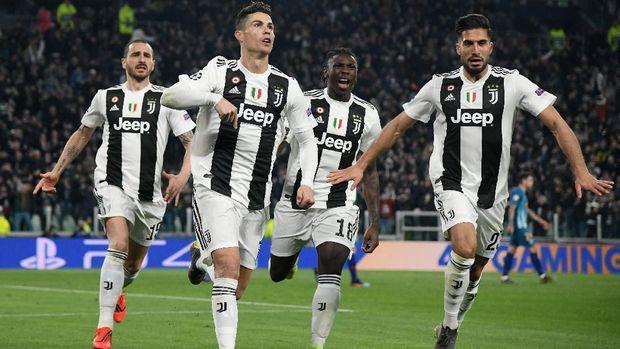 Juventus tiga kali menang atas Ajax di kandang sendiri.