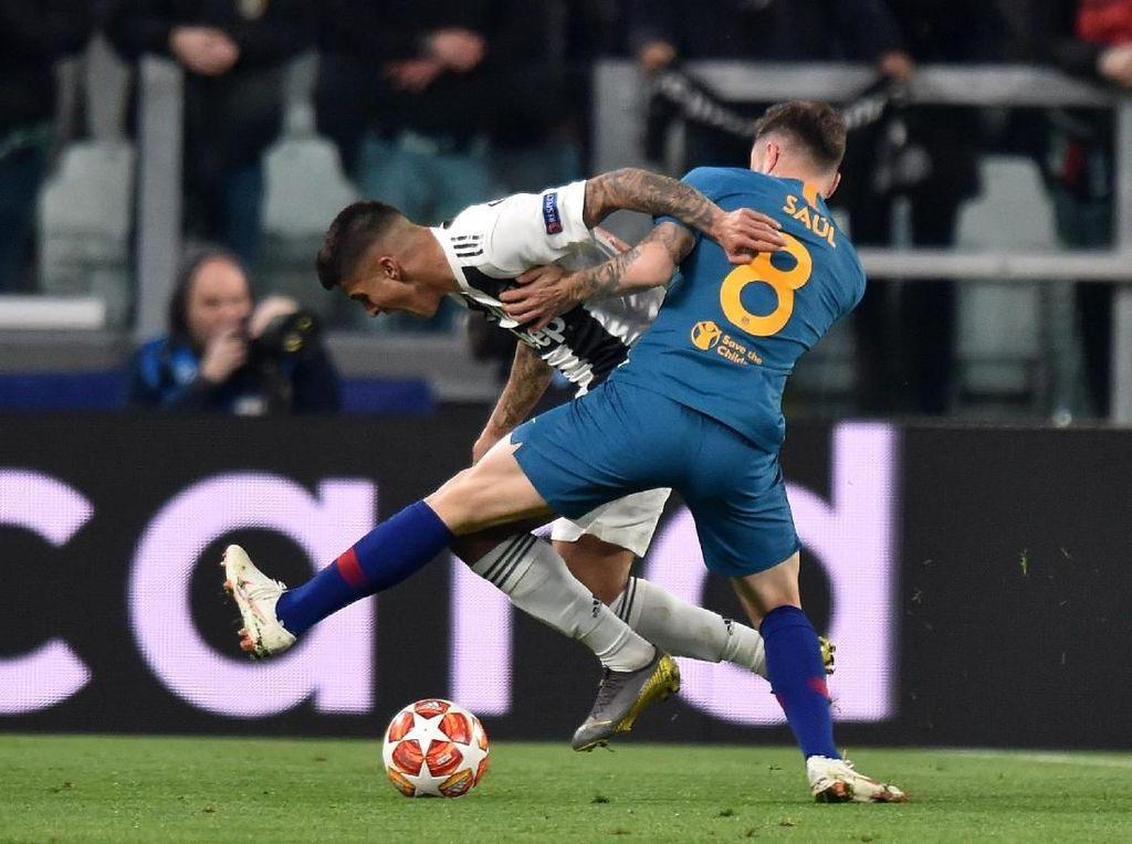 Atletico Hilang Taring karena Main Sesuai Keinginan Juventus