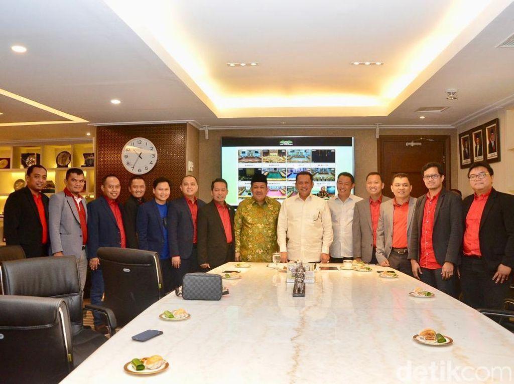 Ketua DPR Bertemu Pengurus Garbi, Fahri Hamzah Ikut