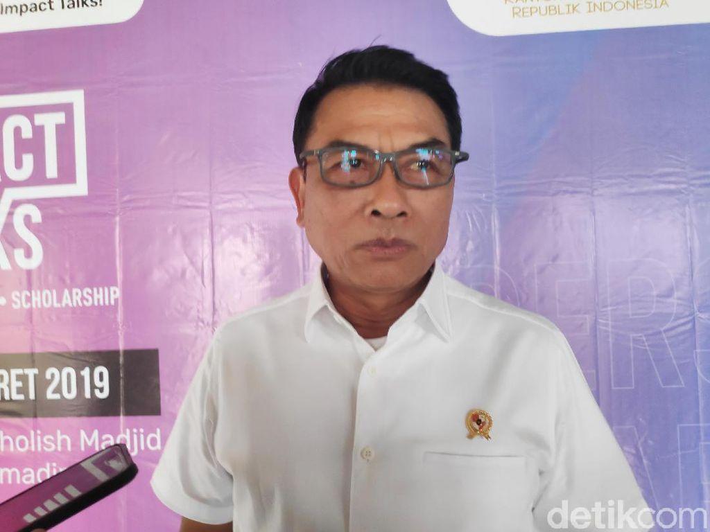 Jokowi akan Bertemu AHY, Moeldoko: Saling Dengar, Saling Mempertimbangkan
