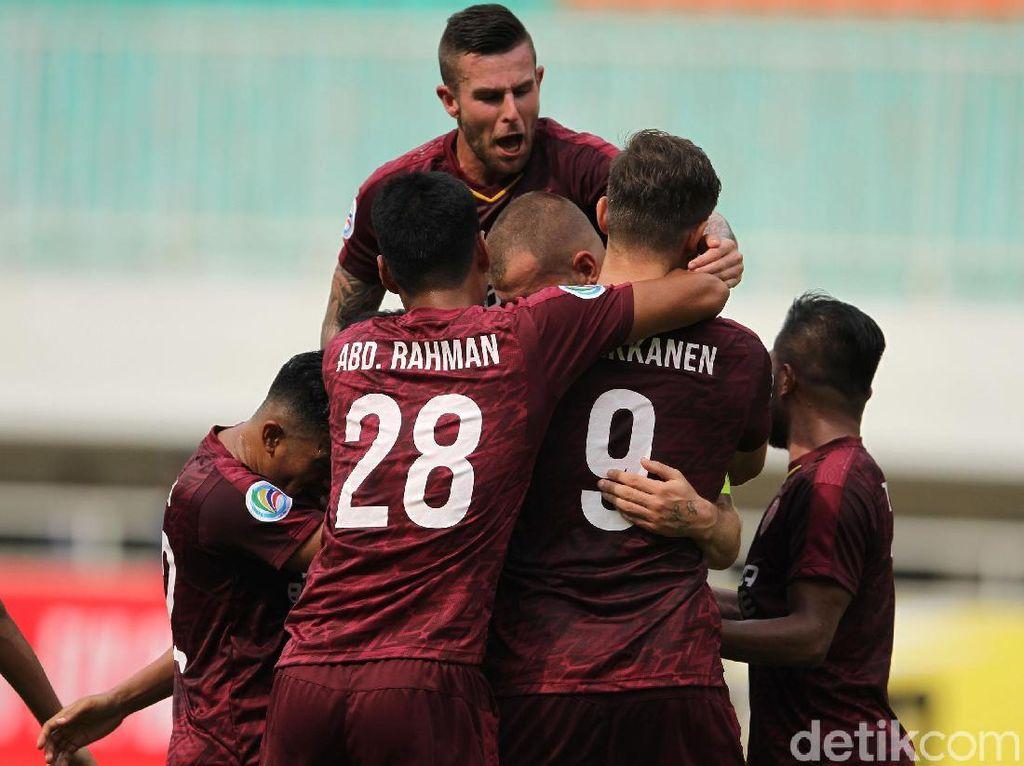PSM Makassar vs Home United: Comeback Gemilang, Juku Eja Menang 3-2