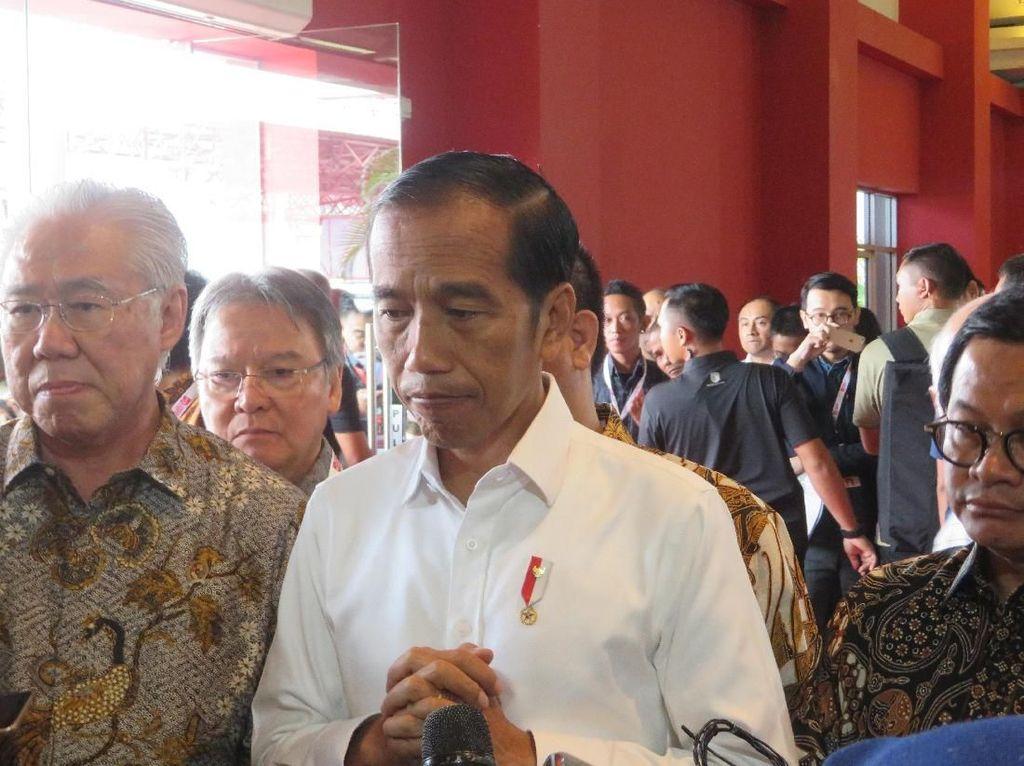 Jokowi Bersama Warga Doakan Korban Penembakan di Selandia Baru