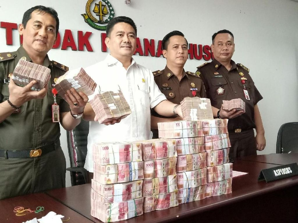 Terdakwa Korupsi Proyek Bandara Atung Bungsu Kembalikan Uang Rp 2,3 M