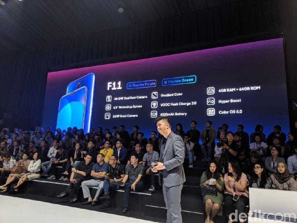 Oppo Turut Rilis F11, Harganya Lebih Murah dari India