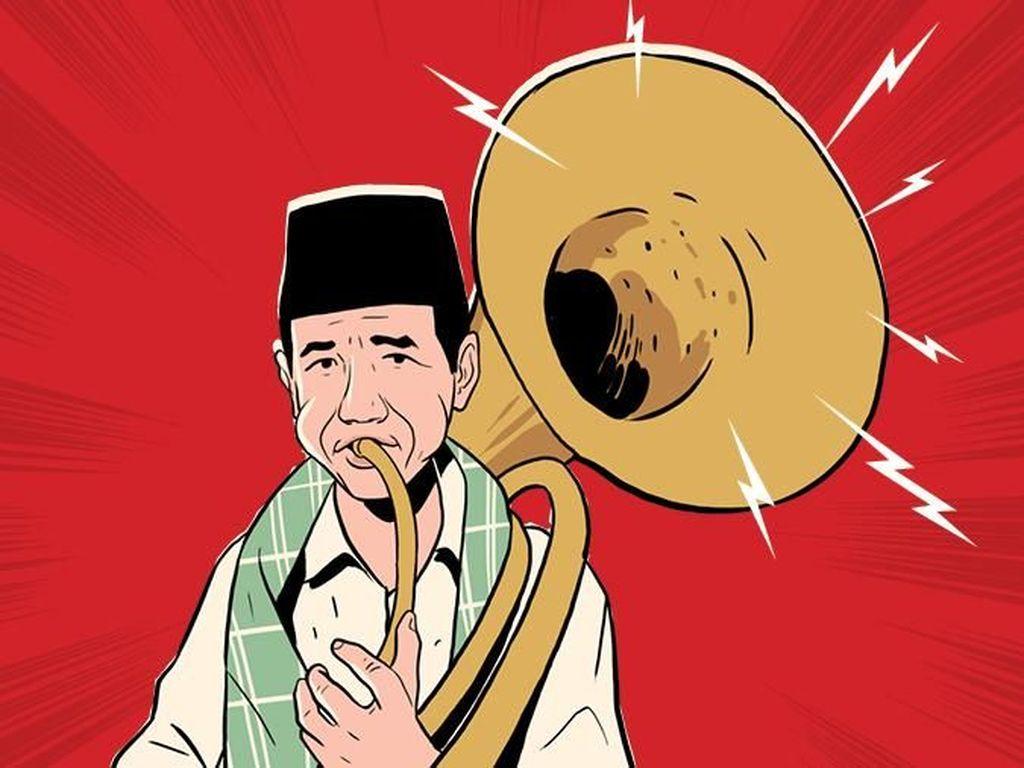 7 Jejak Jokowi untuk Betawi