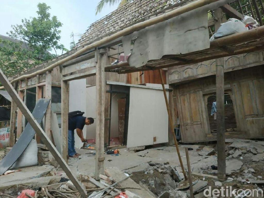 Tanah Gerak Rusak Belasan Rumah di Tulungagung