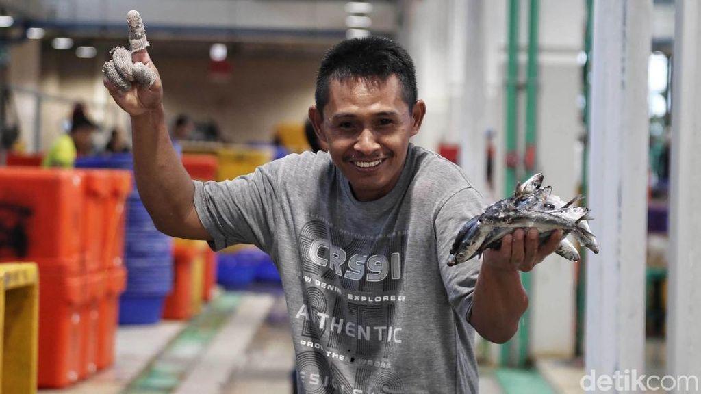 Penampakan Suasana Pasar Ikan Modern Muara Baru