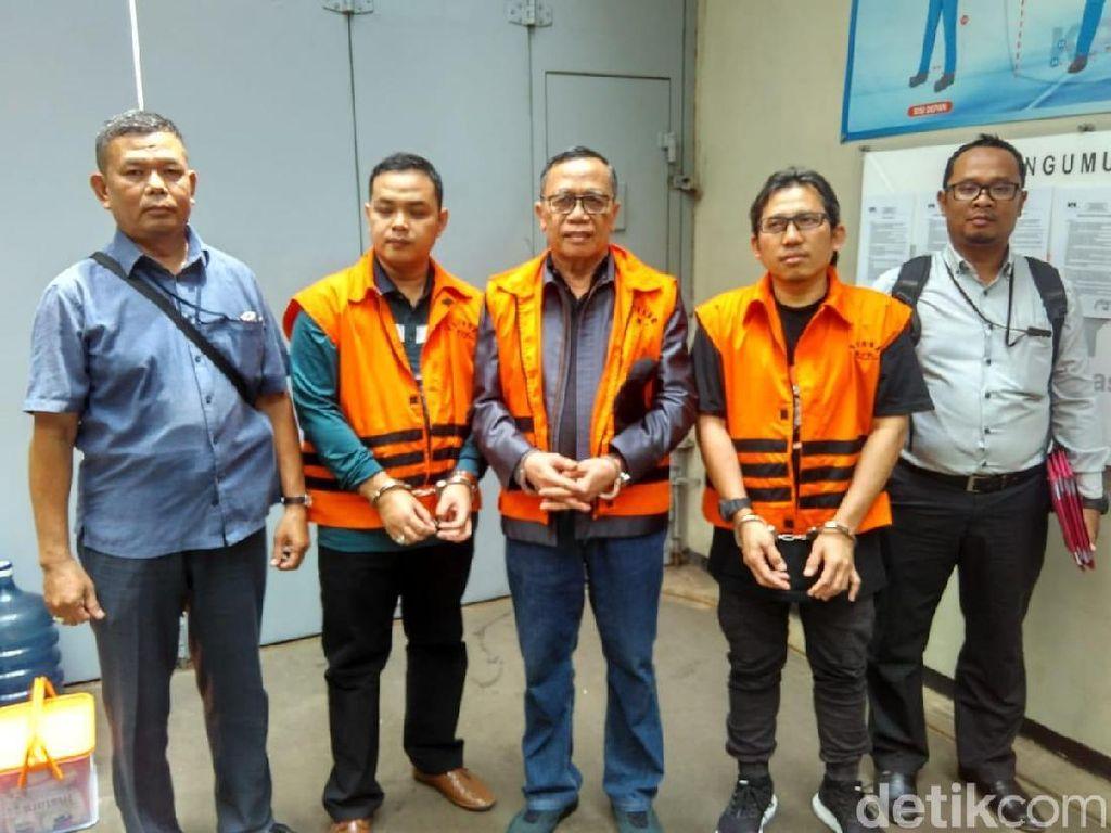 KPK Eksekusi Eks Anggota DPR Amin Santono ke Lapas Sukamiskin